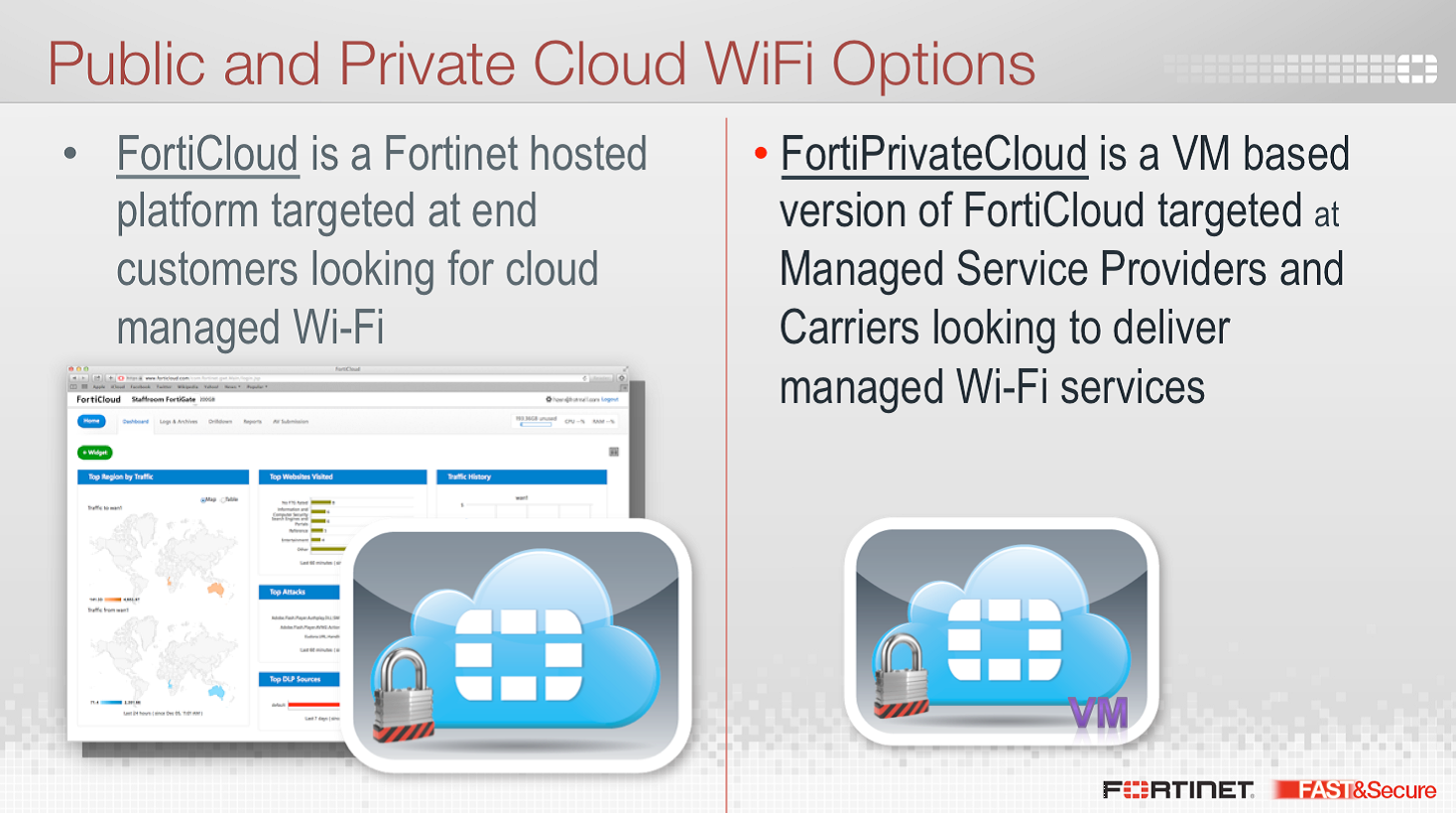 Public and private cloud wifi options