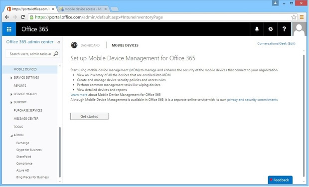 Office 365 Mobile Devices