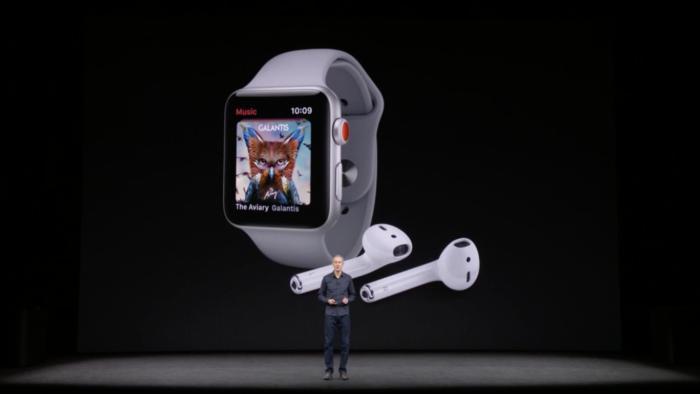 apple watch series3 jeff williams apple music airpods