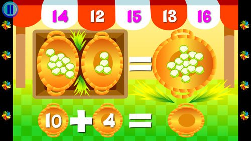 Wee Kids Math app iPhone iPad children