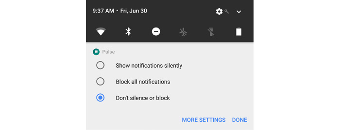 Android productivity tips - control notifications