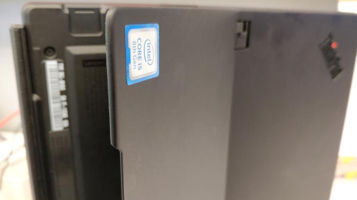 Lenovo ThinkPad X1 tablet 2018 rounded kickstand 2