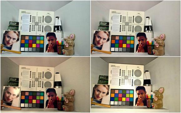 lumia 950 test shot collage