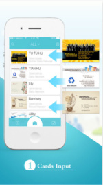 8 business card apps for smartphones scan em and store em techworld foxcard reheart Gallery