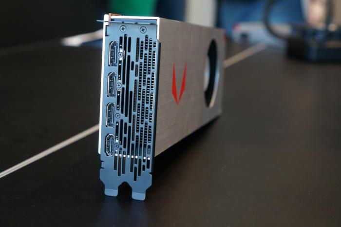 radeon rx vega 64 ports