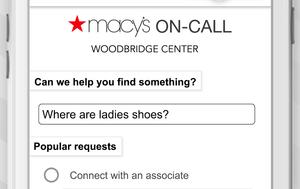 Macy's on call