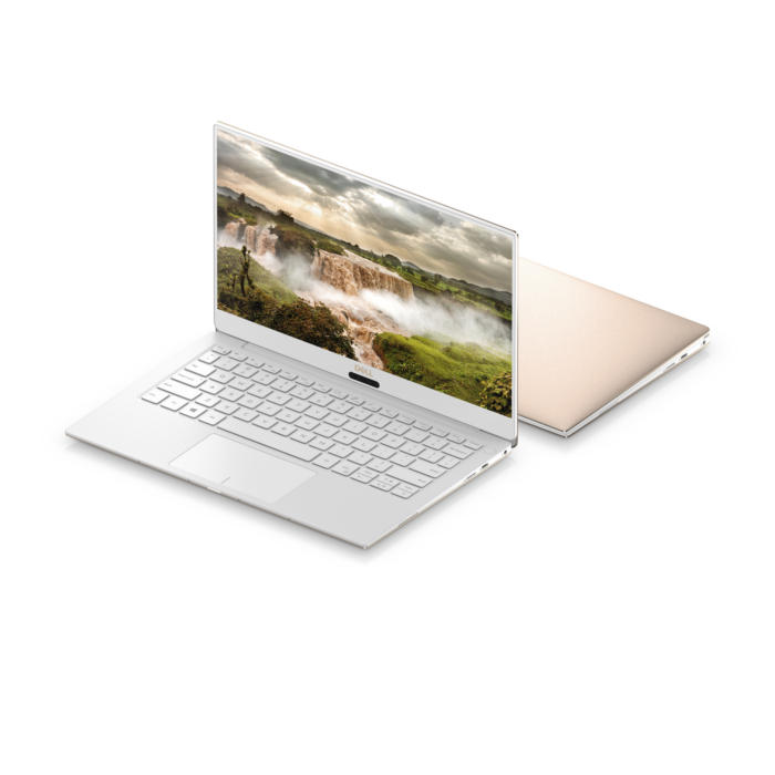 dell xps 13 alpine white rose gold 4