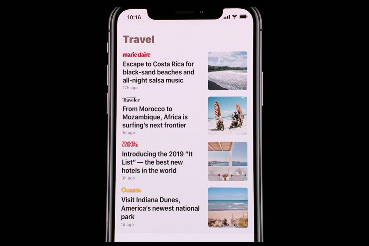 apple news plus multiple articles