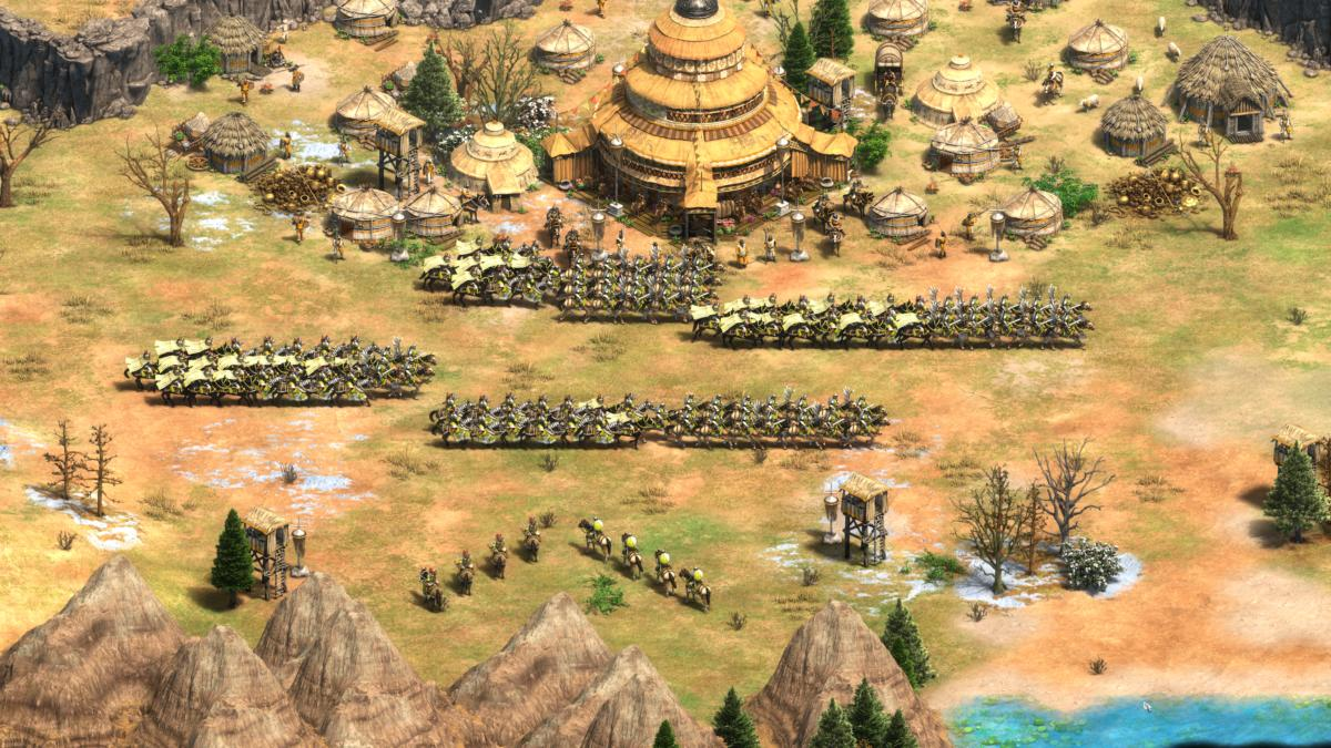 age of empires ii mongols screenshot
