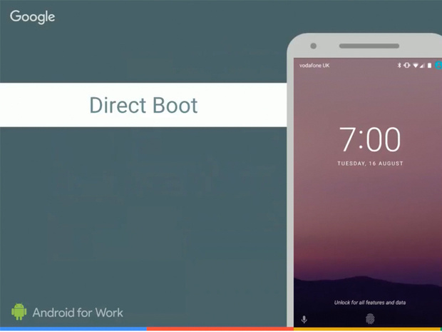 android 7 nougat direct boot