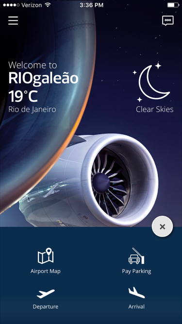 riogaleo airport mobile app