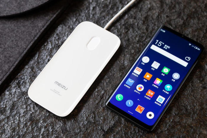 Meizu Meizu is supplying a wireless charger in the Zero box