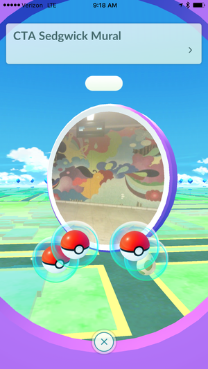 pokemon go pokestop