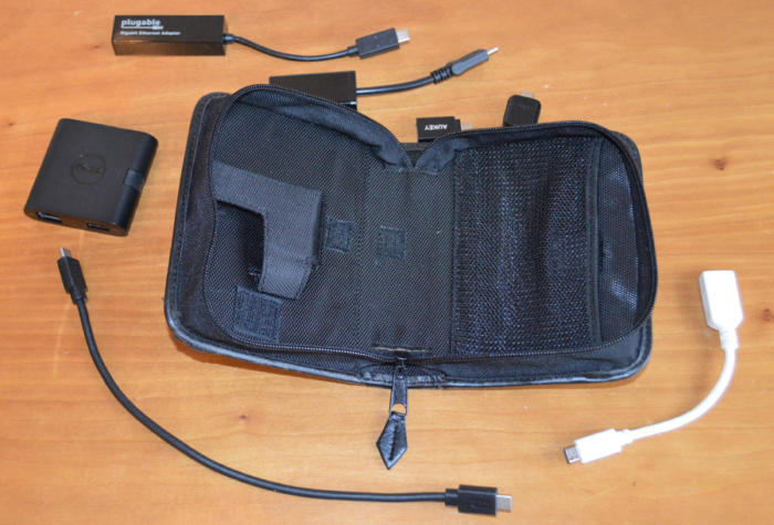 USB-C - travel kit with several adapters