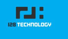 128 technology logo