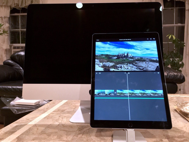 iPad Pro and iMac