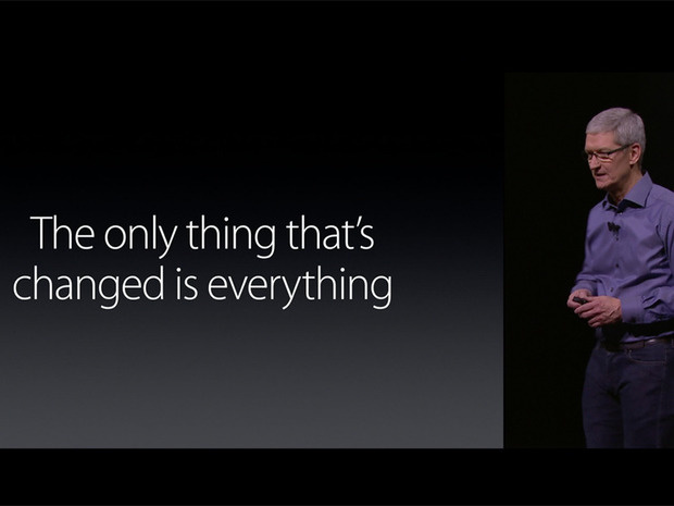 tim cook iphone 6s everything changed