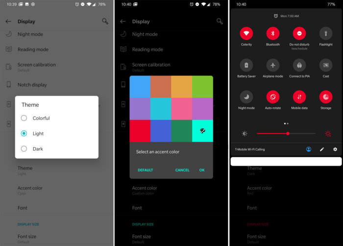 oneplus 6t themes