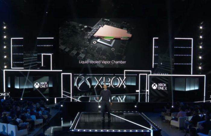 xbox one x vapor champer