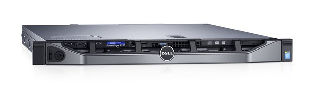 dell poweredge r330 front