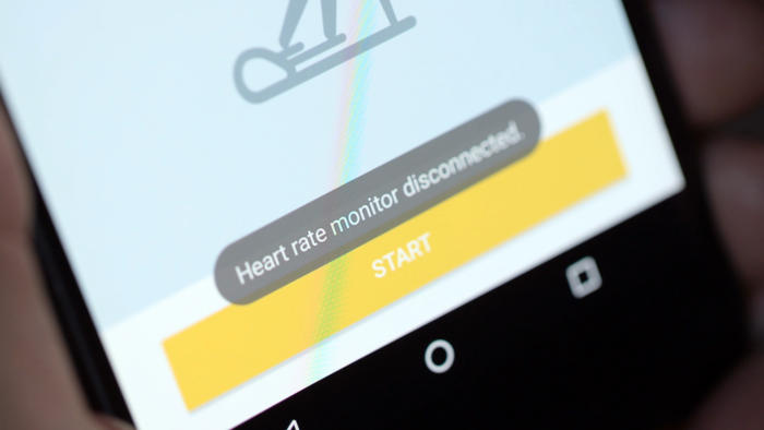 gear iconx heart rate disconnected