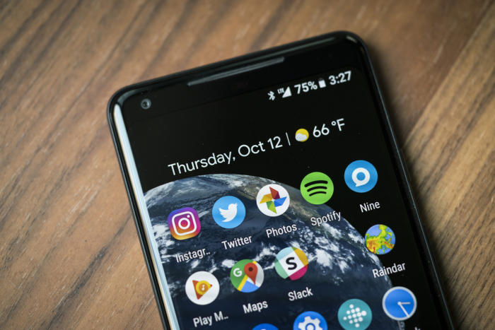 pixel 2 xl weather widget