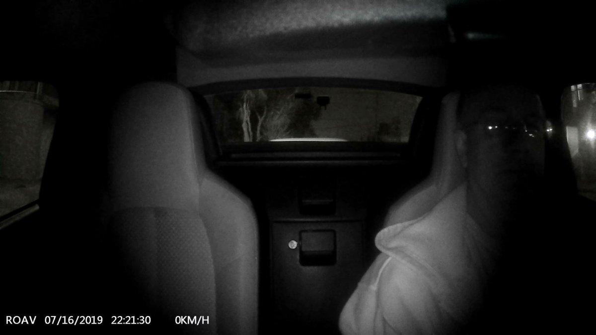 roav dashcam duo interior