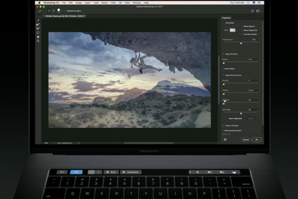 photoshop touch bar 2