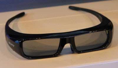 Sony 3D active shutter glasses