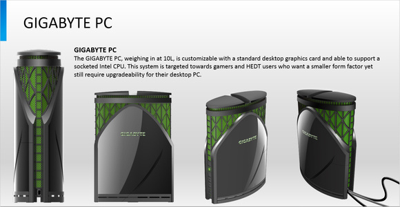 Gigabyte PC PowerPoint Slide Image