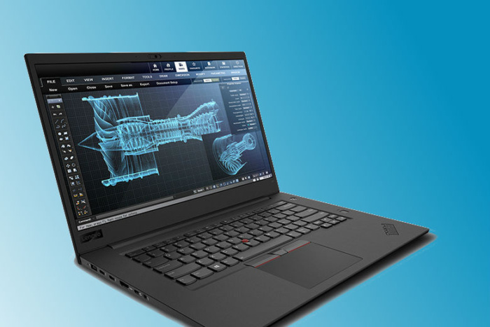 lenovo thinkpad p1 right 3qtr