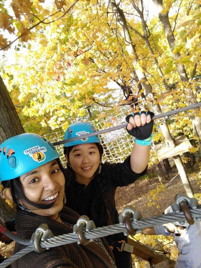 ultimate treetop trekking