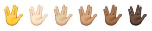 emoji ios10 skin tones