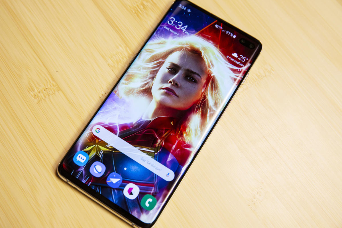 galaxy s10 captain marvel