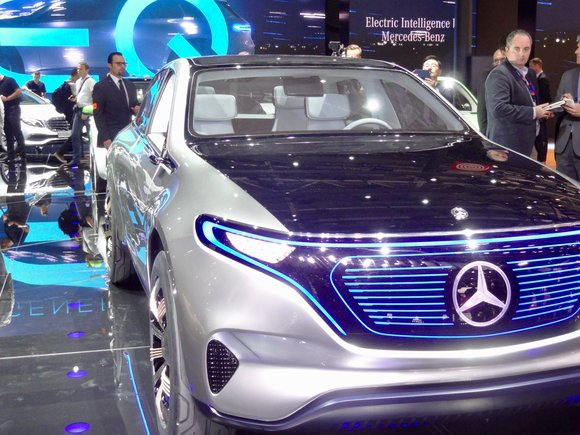 mercedes eq concept car