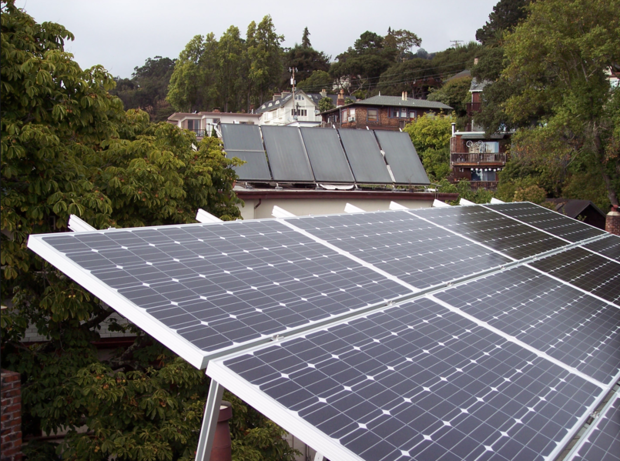 Solar power in San Francisco, California