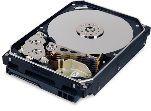 Ultrastar HE8 helium-filled hard drive