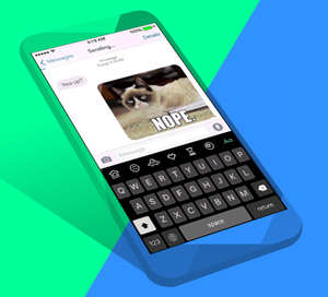 giphy keys ios gif keyboard