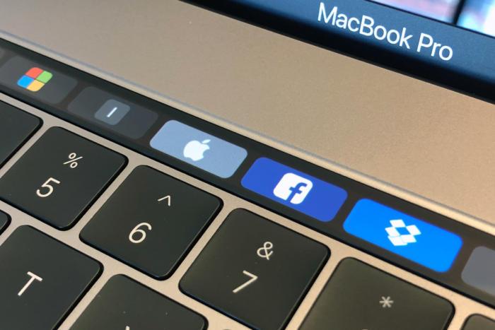 mid 2018 macbookpro touch bar