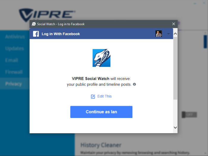 vipreadvancedsecuritysocialwatch