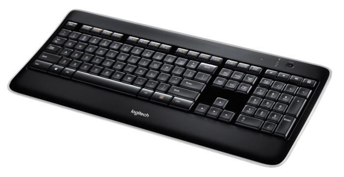 logitech wireless illuminated keyboard k800 2