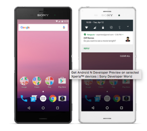 sony android n