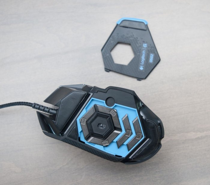 logitech g502 core weights