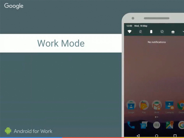 android 7 nougat work mode