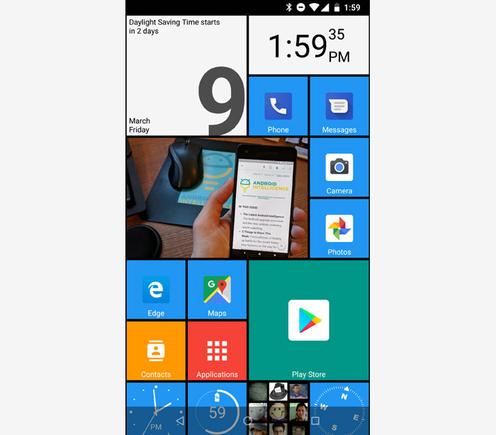 SquareHome 2 Windows Phone launcher