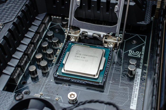 install intel cpu motherboard