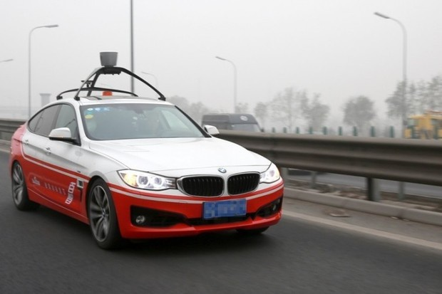 baidu bmw self driving car