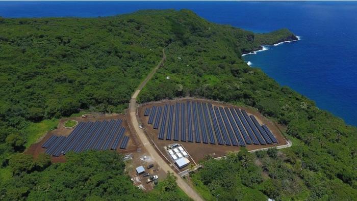 Tesla SolarCity solar power Ta'u