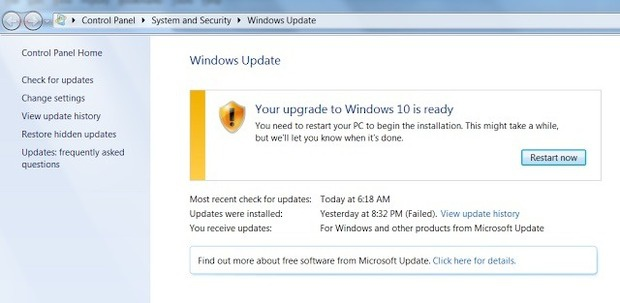 upgrade to windows 10 part 2
