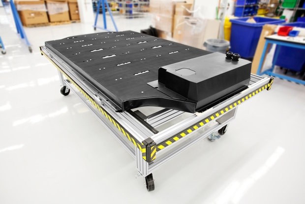 Tesla Model S lithium-ion battery